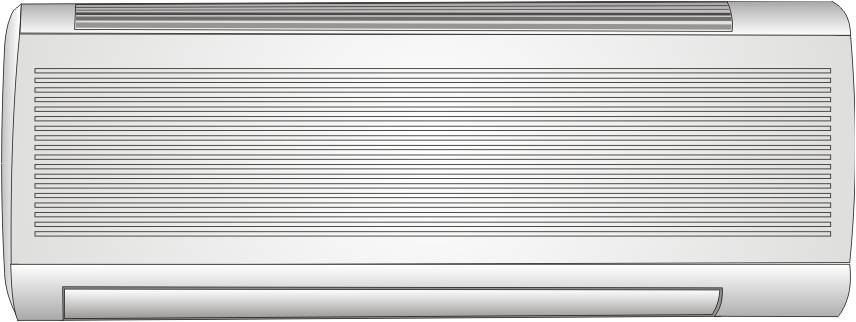Wall-mounted ductless heatpump