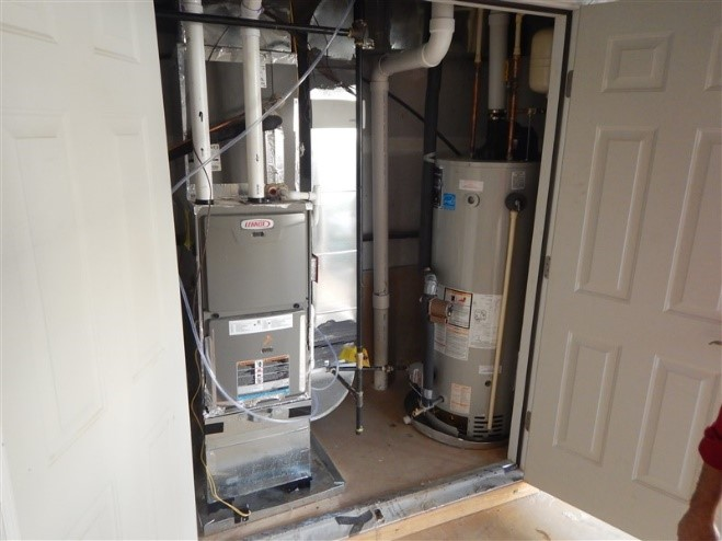 If HVAC Equipment Must Be In The Garage, Mastic Seal All Seams In Ducting  And