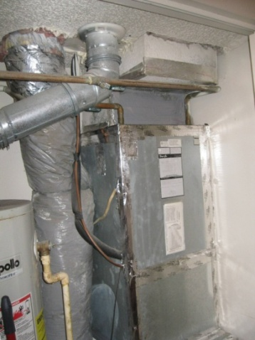 Injected Spray Sealant For Existing Hvac Ducts Building