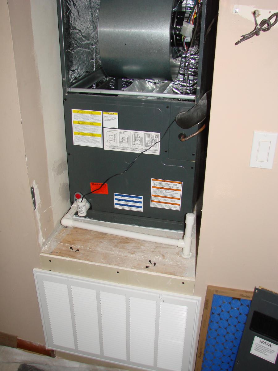 Air Handler Closet Retrofit Building America Solution Center
