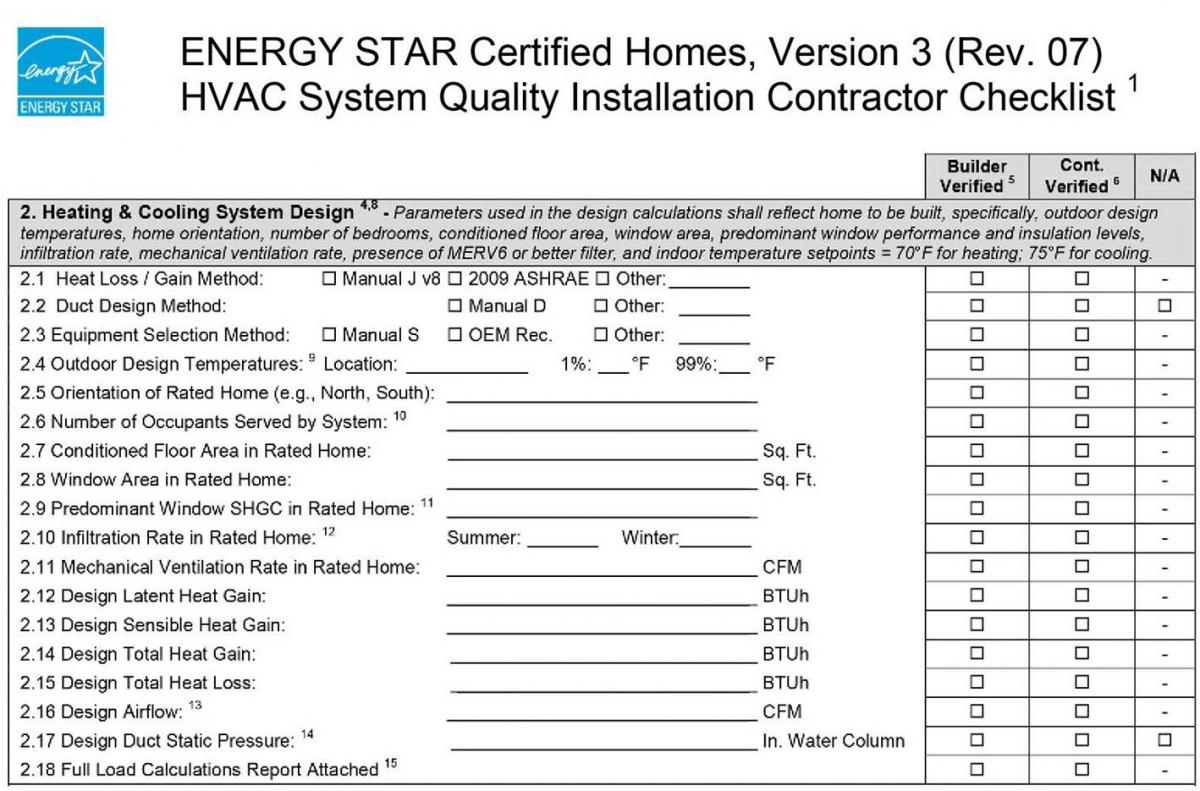 HVAC Installation Checklist Bing images #0B8FC0