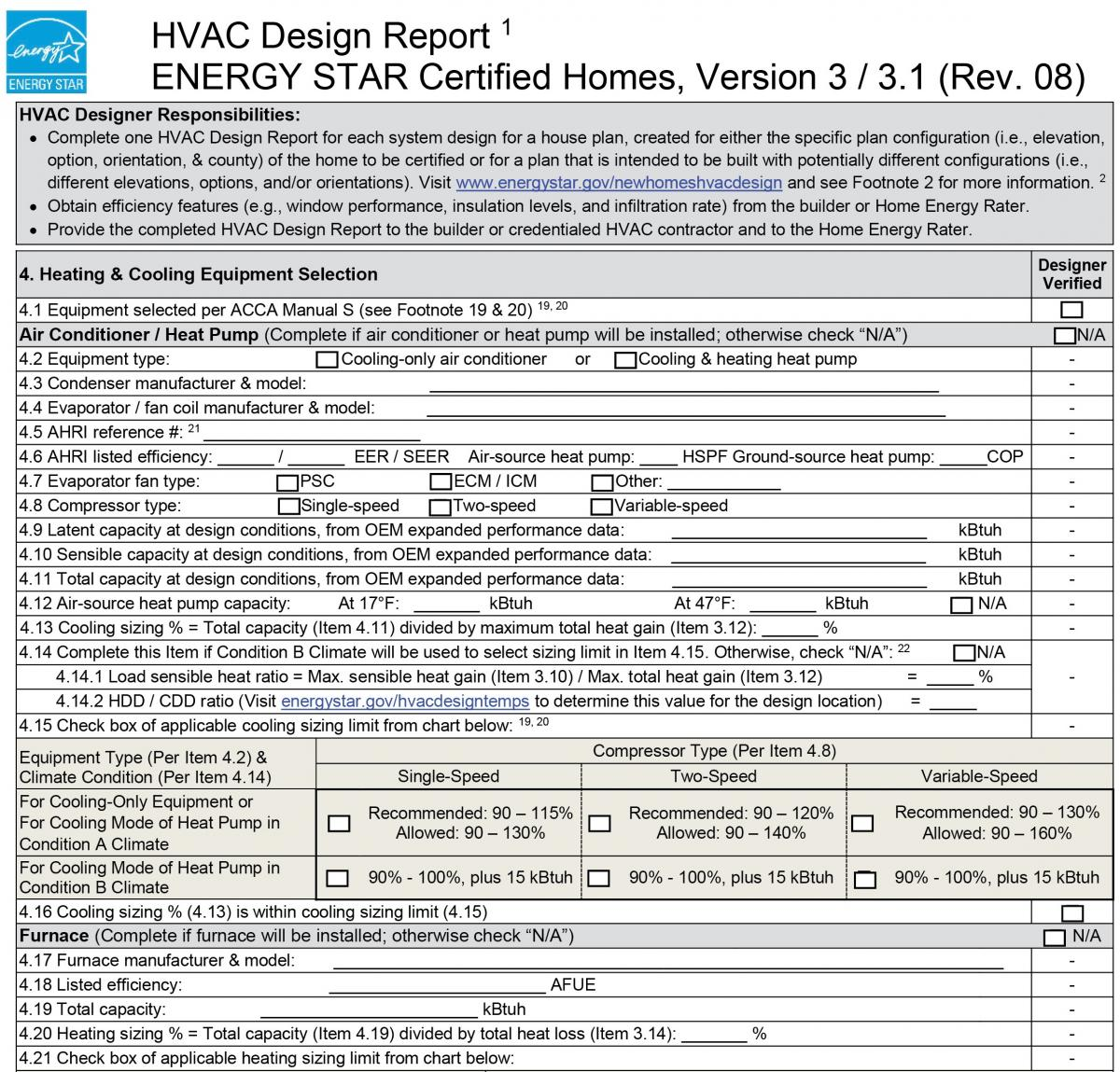 energy star hvac design report 4 heating cooling equipment rh basc pnnl gov hvac manual s form hvac safety manual