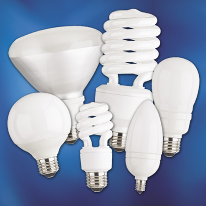 CFLs come in a wide array of shapes and sizes
