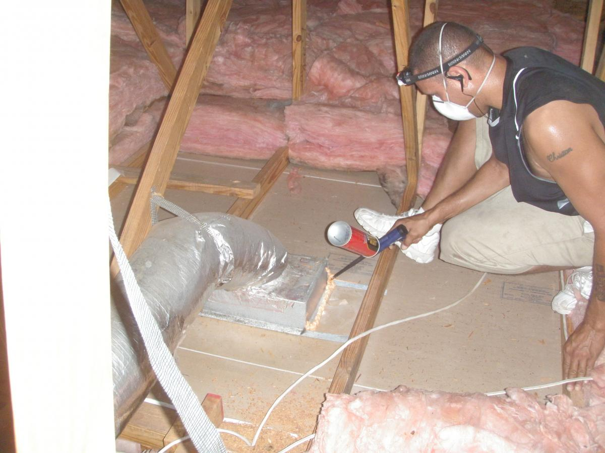Ducts Buried In Attic Insulation Building America