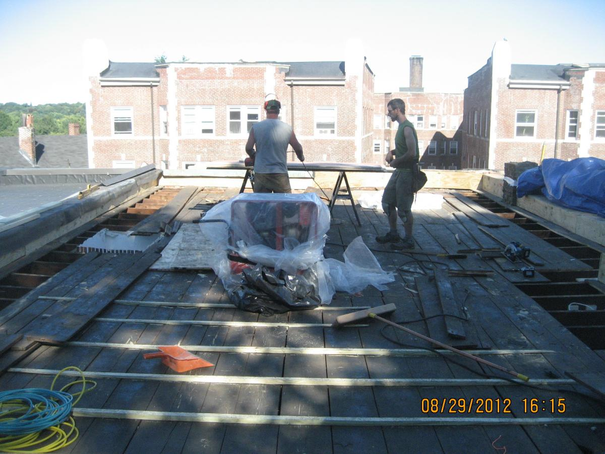 Water Managed Roof Re Roofing And Adding Insulation Over