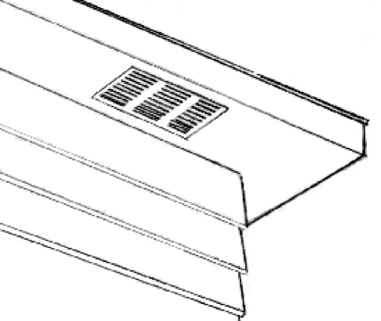 Soffit vents should be covered with metal grating to prevent animal entry
