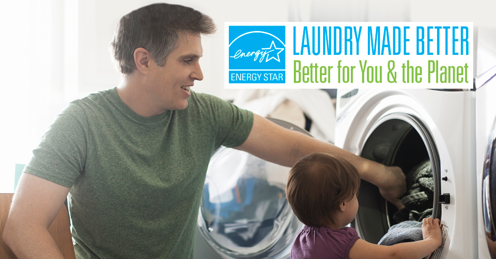 Using an ENERGY STAR-certified clothes washer saves energy, water, and money