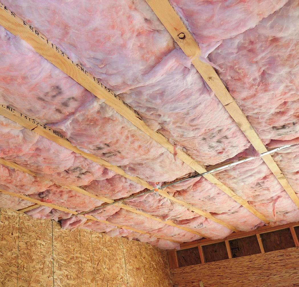 6 Sound Batt Insulation Garage Ceiling With Spray Foam