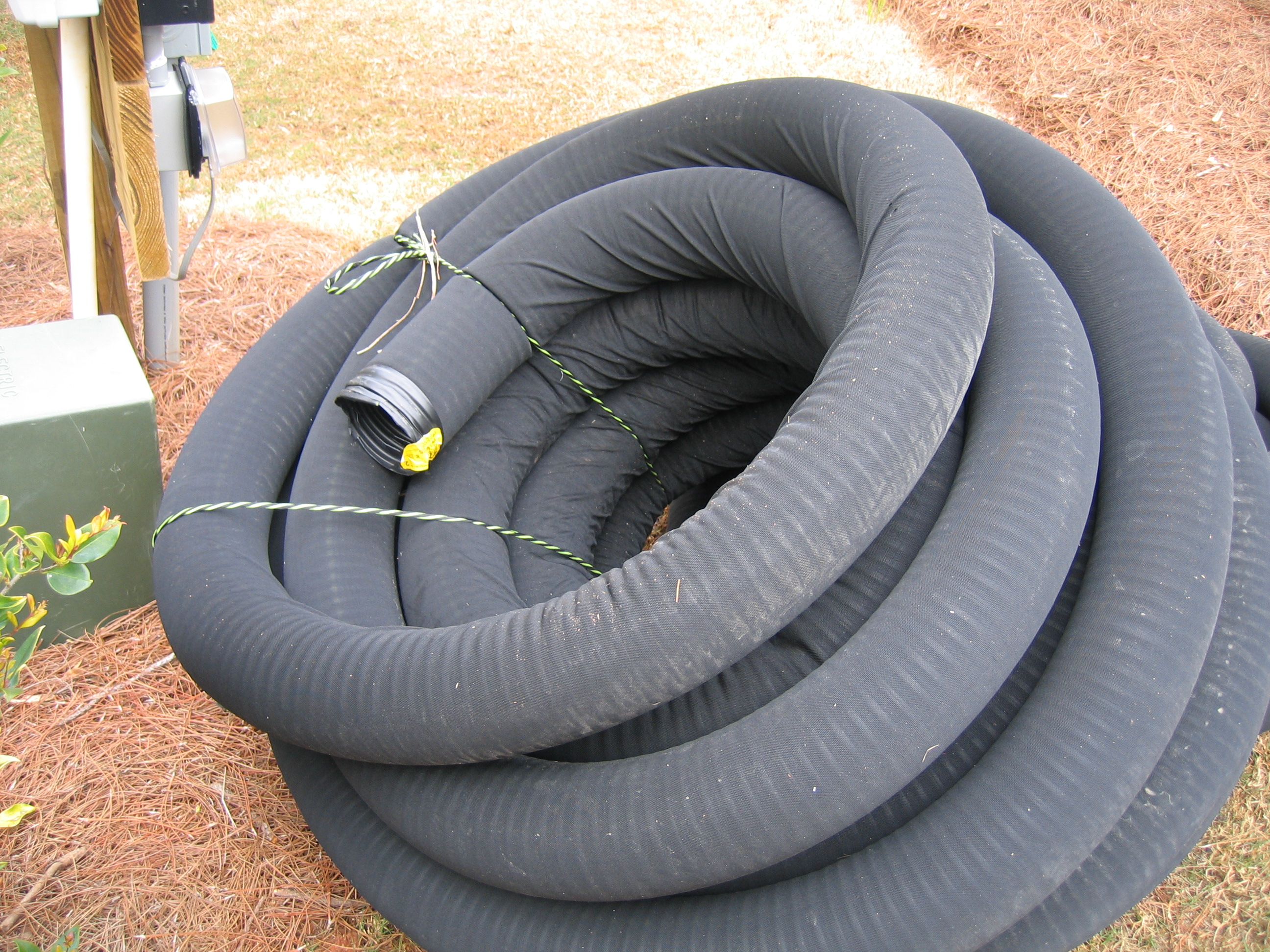Drainage Filter Fabric For : Fabric filter at drain tile building america solution center