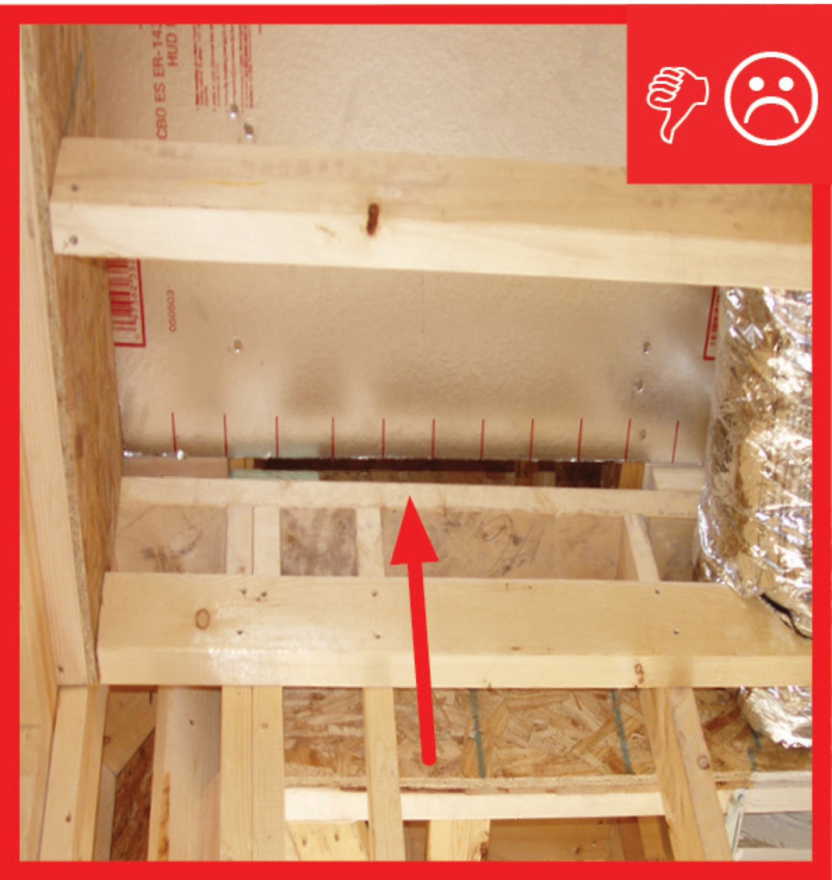Dropped Ceiling/Soffit Below Unconditioned Attic