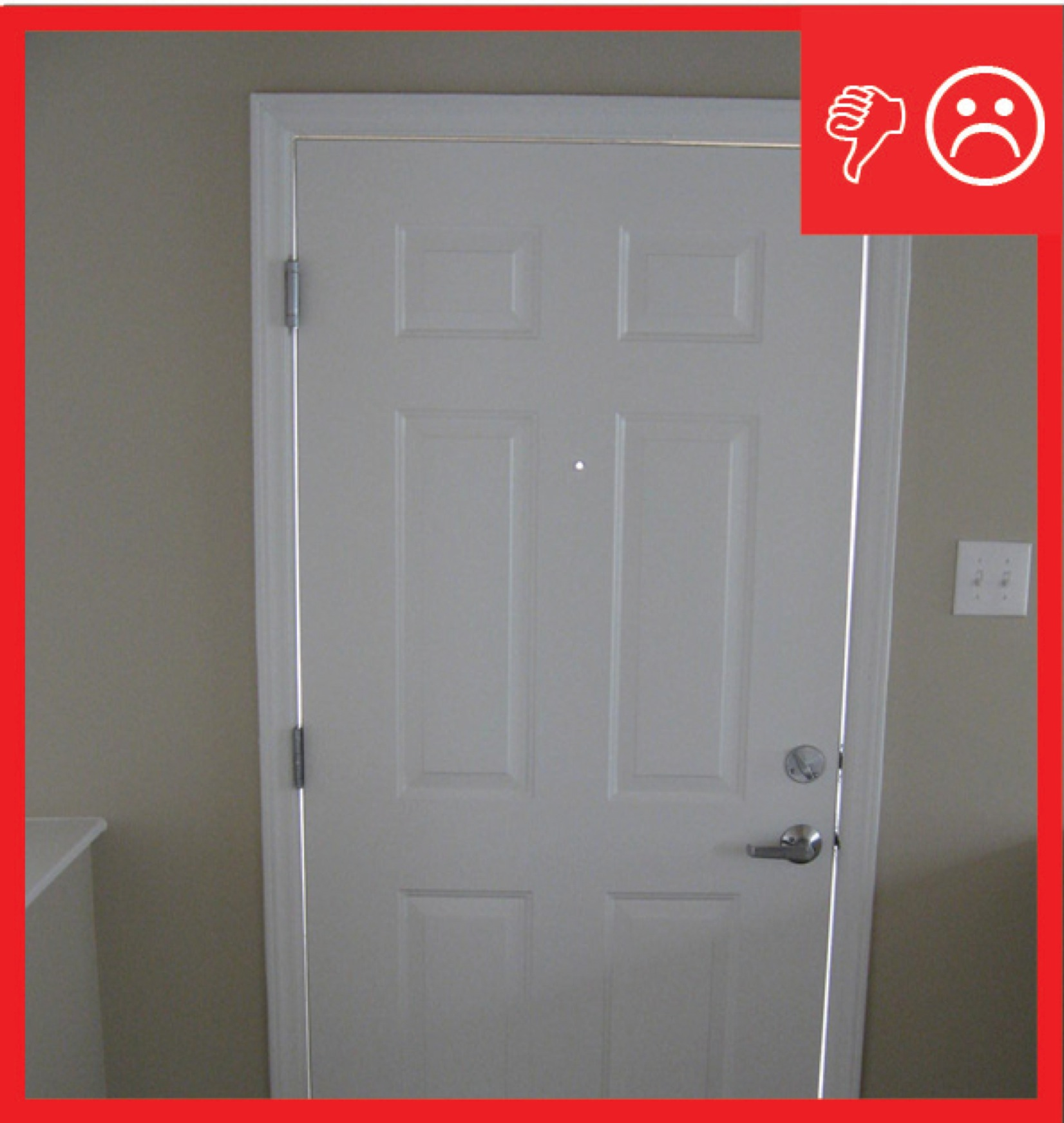 Image result for un sealed door