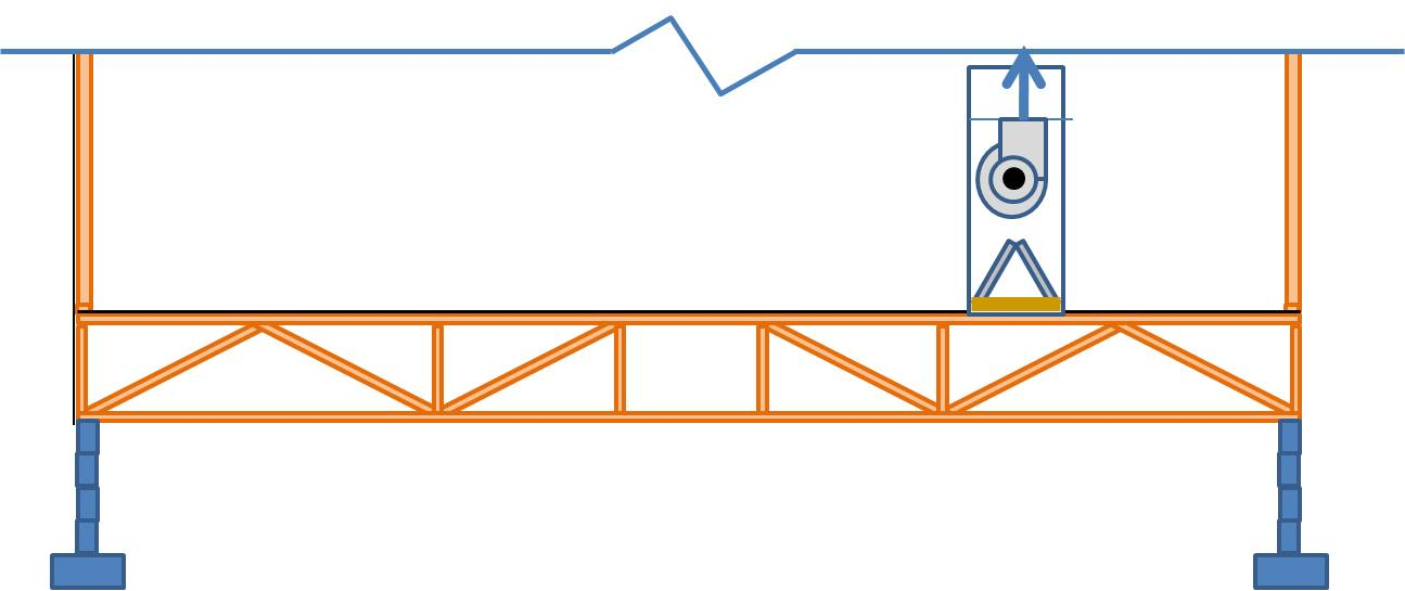 Open floor trusses used as return air plenums can draw air from any place connected to that floor.
