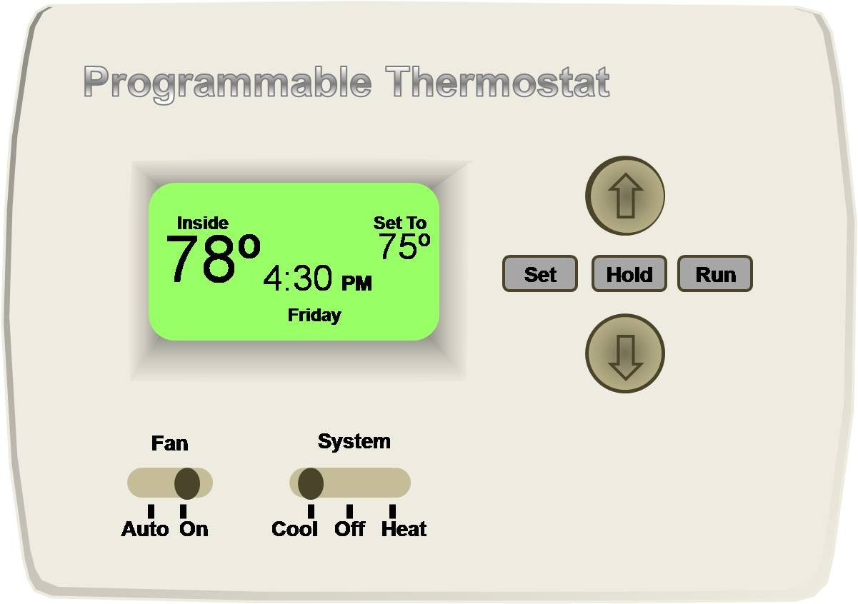 The HERS rater should test the thermostat fan, cool, and heat settings to make sure the system blows ventilation, cooled, and warmed air.