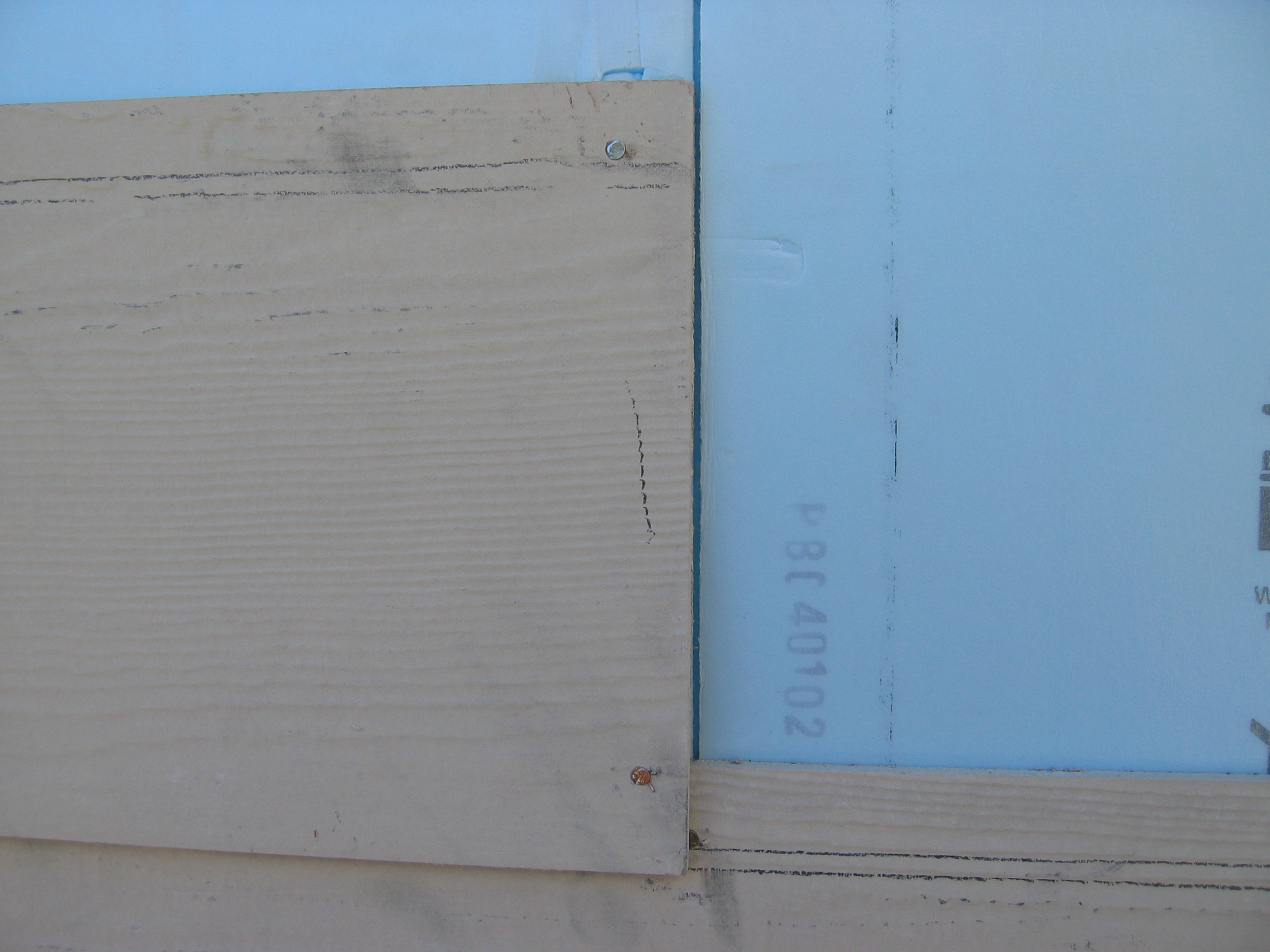 The Mistake of Not Staggering  Siding and Foam Sheathing Joints