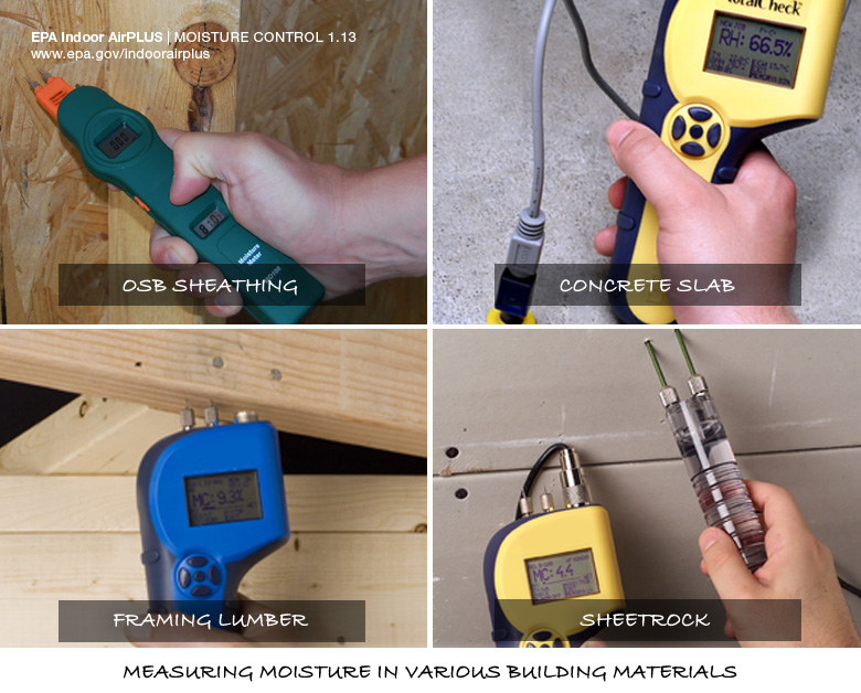 Meters for Measuring Moisture in Building Materials