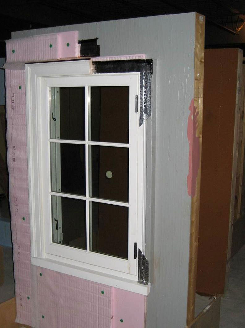 continuous rigid insulation sheathing  siding
