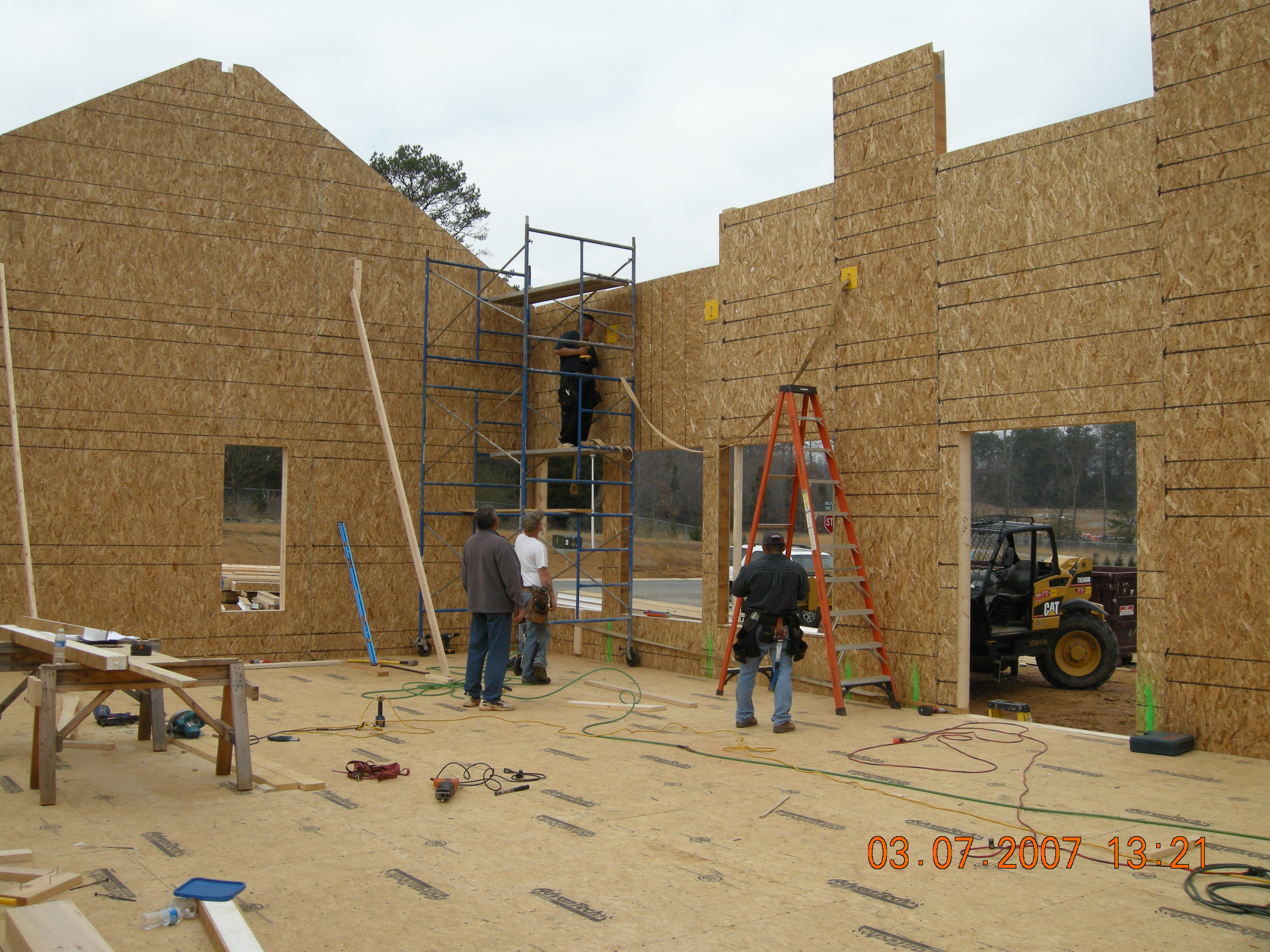 Structural insulated panels sips building america for Sip construction plans