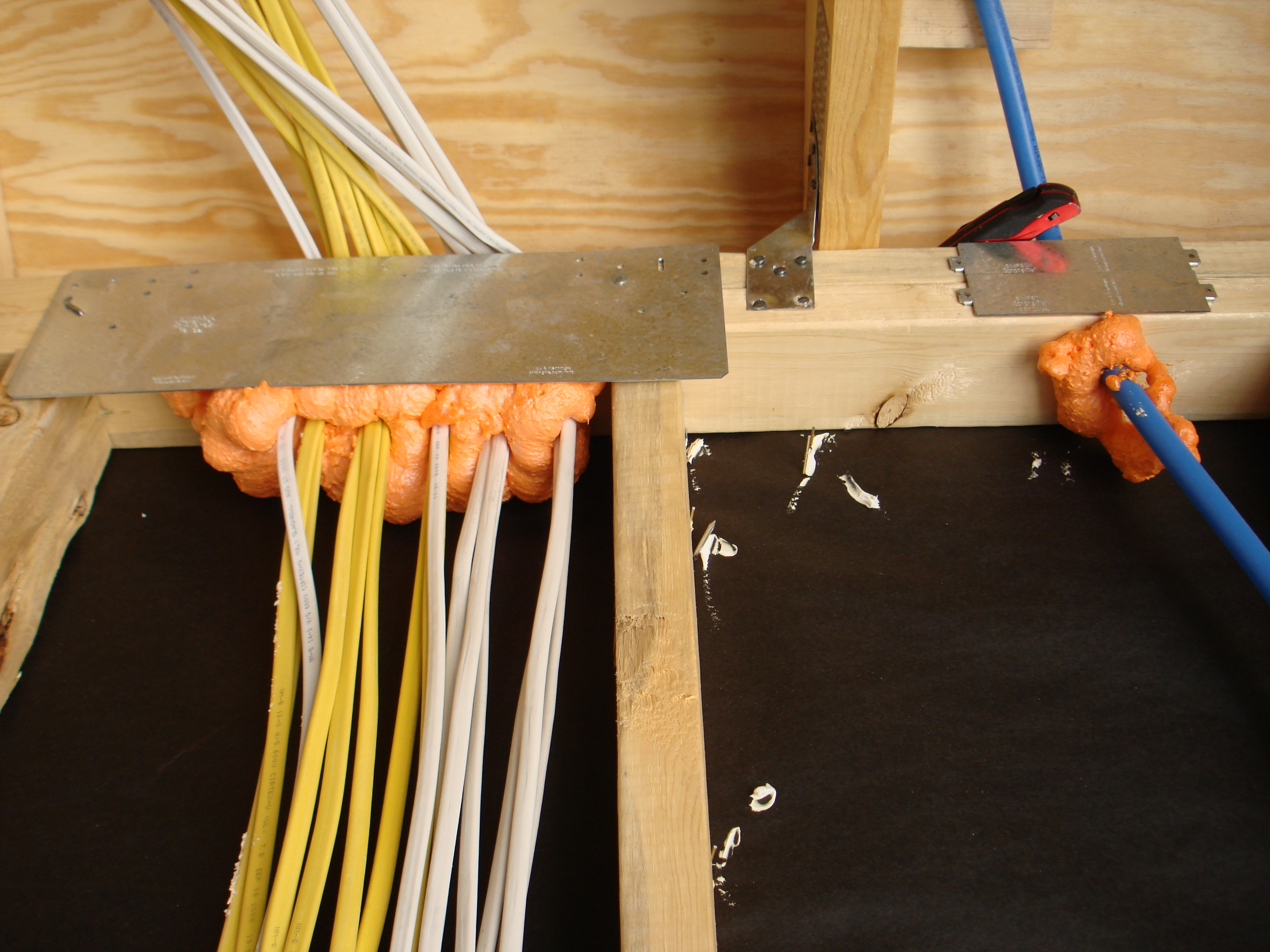 Air Sealing Electrical Wiring Building America Solution