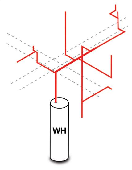 core plumbing layout