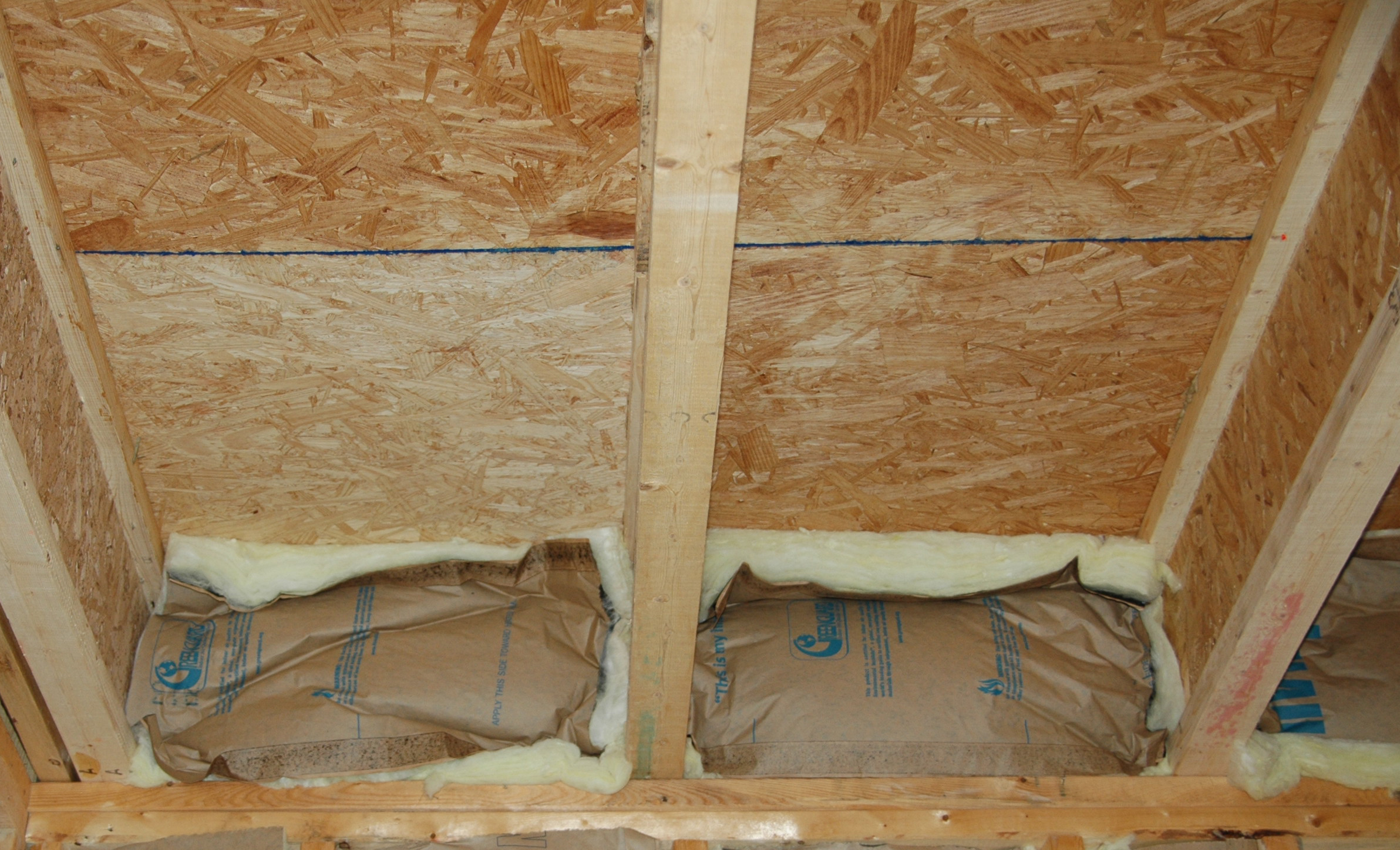 Batt insulation is not an effective air barrier