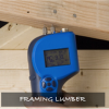 Check the moisture content of wall materials to ensure materials are dry before enclosing walls with drywall and siding.