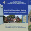 Certified Insulated Siding: Quality, Comfort and Energy Performance
