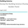 Stump the Building Science Chump - Builder Panel Building America Webinar
