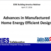 Advances in Manufactured Home Energy Efficient Design