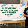 Inside FORTIFIED: Installing Underlayment Over Taped Seams