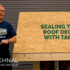 Inside FORTIFIED: Sealing Roof Seams with Tape
