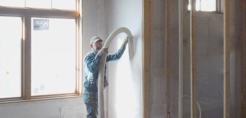 Framed Wall Insulation