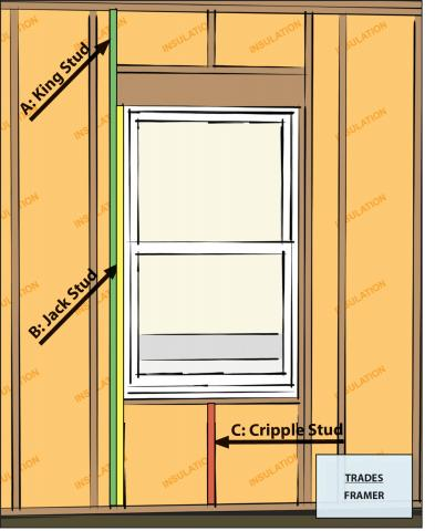Advanced framing details include minimal framing at windows and doors.