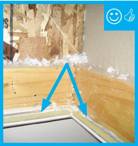Right U2013 Attic Access Door Has Foam And Rubber Weather Stripping Installed  That Remains In Contact When Closed