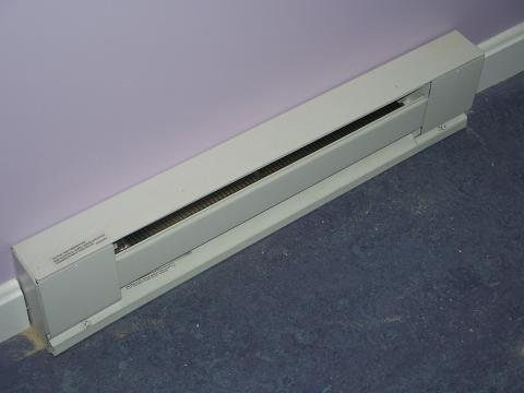 Baseboard radiators are one means of distributing hot water heat