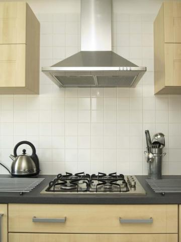 Proper sizing of kitchen exhaust fan