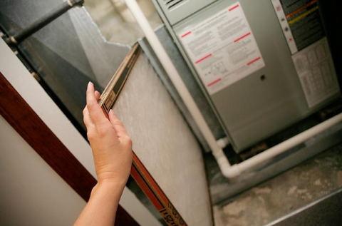 Replace HVAC air filters regularly to protect the equipment and maintain system efficiency