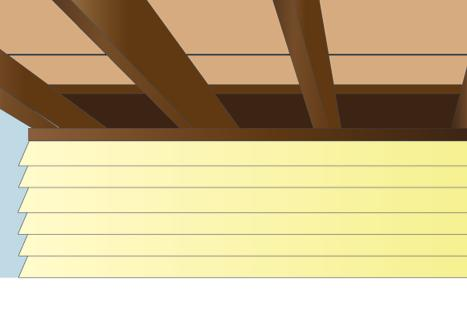 If these floor joist bays remain open, cold air can flow between the floors of the house