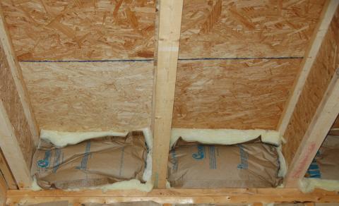 Batt insulation is not an effective air barrier