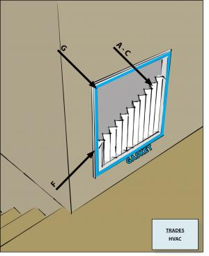 Install a filter with a MERV rating of 6 or higher in each ducted mechanical system