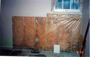 Do not install a class I vapor retarder over vapor-permeable insulation on the interior of a foundation wall as the vapor retarder can trap moisture in the wall, which can lead to mold.