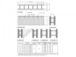 Icf Straight Wall Form In Several Widths Building