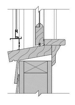 window sill at wood frame wall - Wood Frame Wall