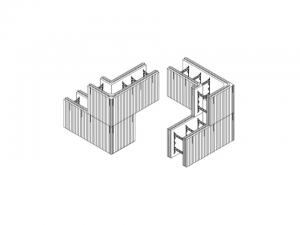 Icf Stacked 90 Degree Corners Building America Solution