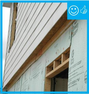 Right – Cantilever has been properly insulated, air sealed, and cavity has been blocked