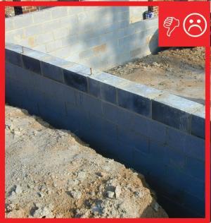 Damp Proof Exterior Surface Of Below Grade Walls
