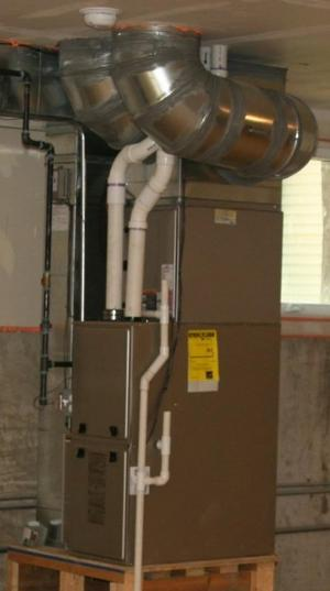High-Efficiency Gas Furnace
