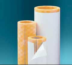 High density fiberglass pipe insulation comes with a vapor for Fiberglass insulation density