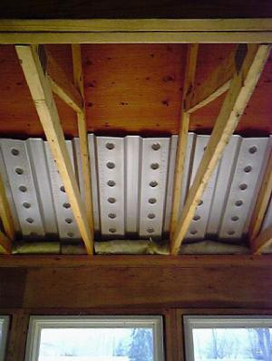 Baffles Provide An Air Space Over The Insulation To Guide