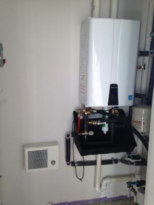 Wall-mounted gas tankless water heater