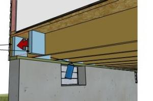 Rigid Foam Board Insulation for Existing Band Joists